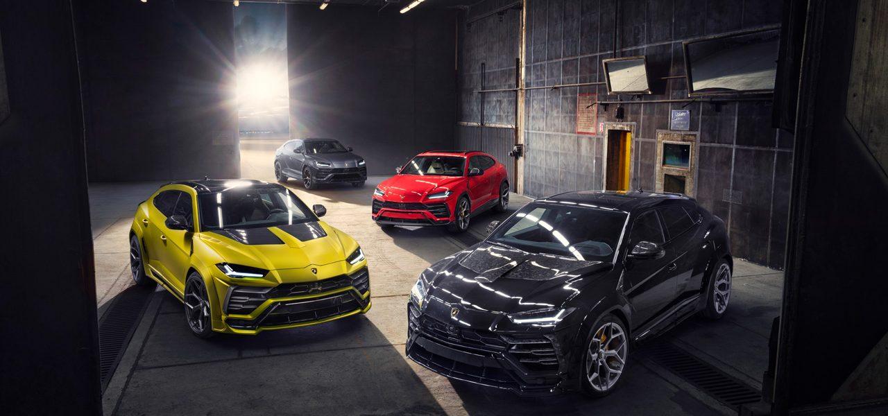 Lamborghini Urus – Novitec Program