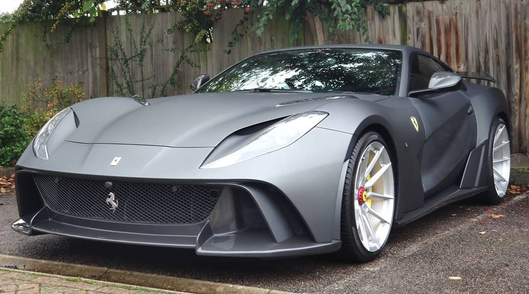 Ferrari 812 – N LARGO conversion