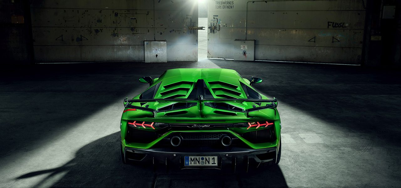 Lamborghini Aventador SVJ – Novitec Program