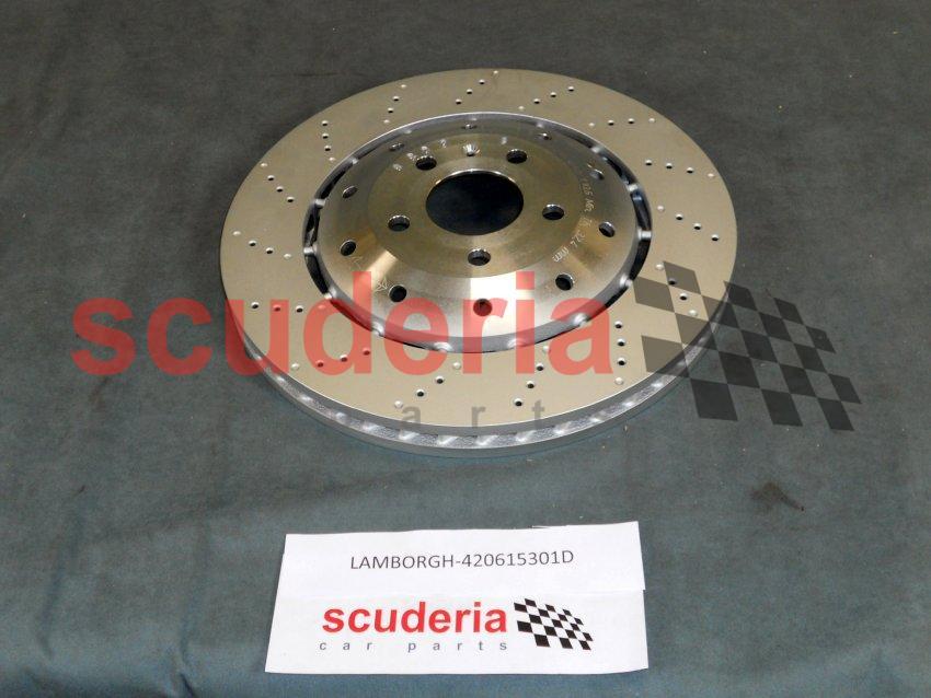 Lamborghini 420615301D, Front Brake Rotor - Scuderia Car Parts