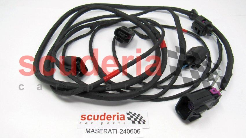 front parking sensors wiring harness