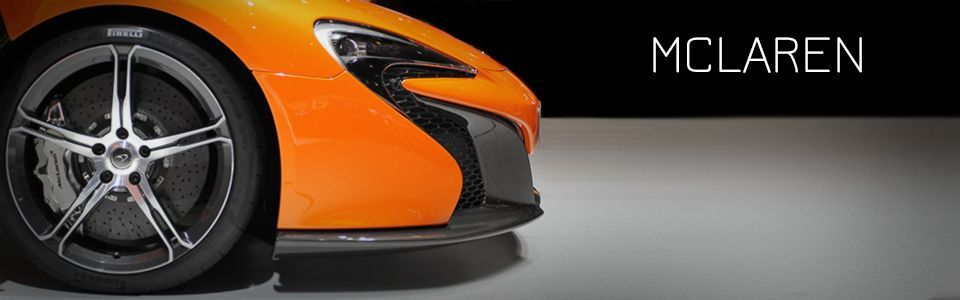 Tuning and Aftermarket Parts for McLaren models