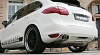 Cargraphic Sport Rear Silencer for the Porsche Cayenne 7