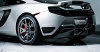 Vorsteiner MP4-VX Rear Diffusor & Rear Bumper for McLaren MP4-12C 3