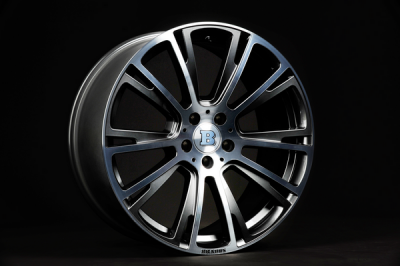 Brabus Monoblock R Wheels (Liquid Titanium Smoked) for the Mercedes Benz S63/S65 AMG & S-Class W222 1
