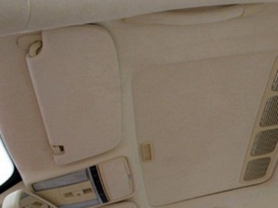 Brabus Set of Sun Visors in Leather / Alcantara for the Mercedes Benz E63 AMG 1