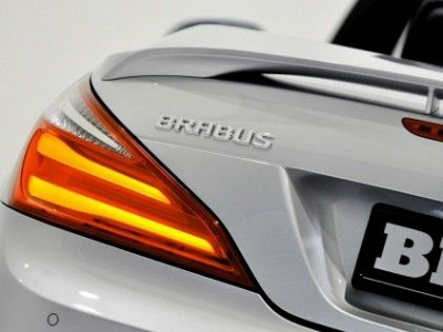 Brabus Logo for Tailgate for the Mercedes Benz SL-Class R231 1