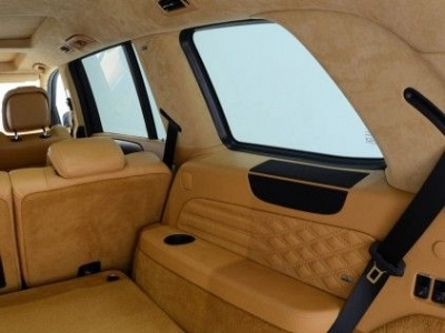 Brabus A, B, C, D Pillars in Leather / Alcantara for the Mercedes Benz GL-Class X166 1