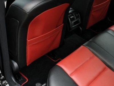 Seat back covers in leather alcantara from brabus for Seat covers for mercedes benz c class