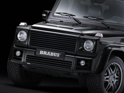 Brabus front skirt mercedes benz g class g55 amg for Mercedes benz g class parts