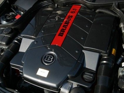 Brabus Increased-Displacement 6.1 V8 for the Mercedes Benz G55 AMG 1