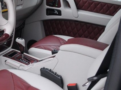 Brabus Middle Console including Armrest in Leather / Alcantara for the Mercedes Benz G-Class W463 1