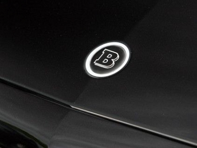 Brabus Bonnet Logo for the Mercedes Benz S-Class W/V 221 1