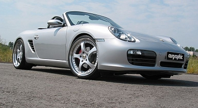 Turbo-R Wheel Set - 8,0x20 and 9,5x20 for the Porsche Boxster from Cargraphic 1