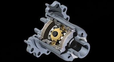 Cargraphic Limited Slip Differential for the Porsche 911 996 GT3 1