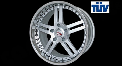 GT Wheel 21 for the Porsche Cayenne from Cargraphic 1
