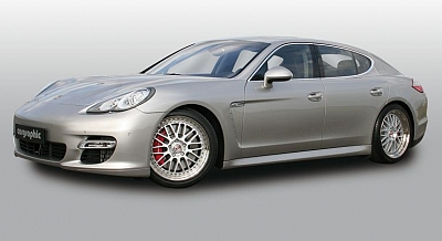 RACING Wheel Set - 9.5x20 + 11.0x20 for the Porsche Panamera from Cargraphic 1