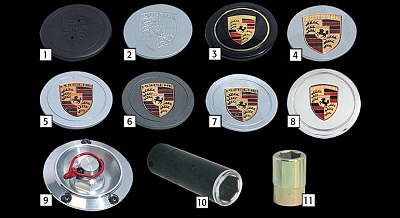 Felgendeckel for the Porsche Panamera from Cargraphic 1