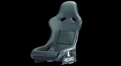 Cargraphic RECARO Pole Position Leather for the Porsche 911 997 Turbo-GT2 1