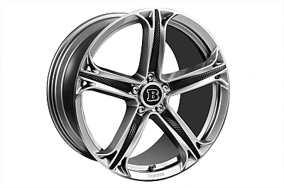 Brabus Monoblock T Wheels (Liquid Anthracite) - Mercedes-Benz ML-Class W166 1