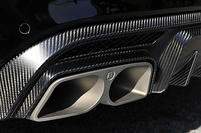 Brabus Valve-Controlled Sports Exhaust for the Mercedes-Benz C63 AMG W/C 205 1