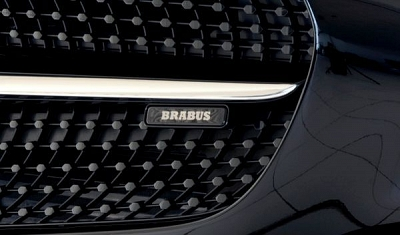 Brabus Illuminated Logo for the Front Grill - Mercedes-Benz AMG GT 1