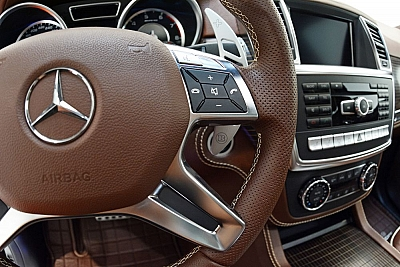 The Brabus Shift Paddle Set (Race) for the Mercedes Benz GLA-Class X156 1