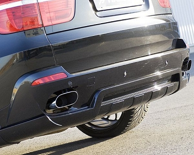 Hamann Sport Rear Muffler with 2 Tailpipes - BMW X5 (E70) 1