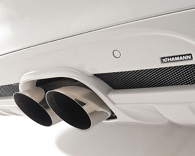 Hamann Sport Rear Muffler with 2 Central Tailpipes - BMW X6 (E71) 1