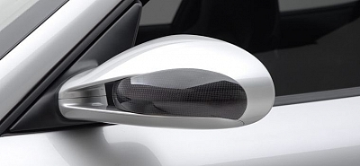Vorsteiner V-RT Carbon Mirror Covers for Porsche 911 (997) Turbo 1