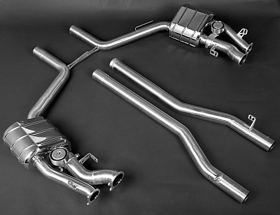 Capristo Sports Exhaust for Mercedes Benz CLS 63 AMG 1