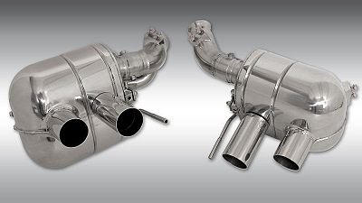 Novitec Power-Optimized Exhaust System with Flap-Regulation for the Ferrari California T 1