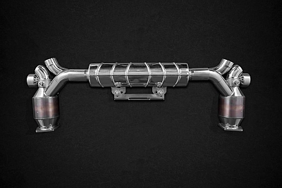 Capristo Sports Exhaust for Porsche 911 (991) Turbo & Turbo S 1