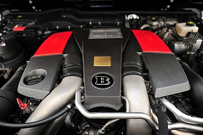 Brabus B63-620 Engine Upgrade for the Mercedes Benz G63 AMG 1