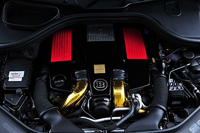 Brabus Performance Kit B63S-700 for the Mercedes Benz ML63 AMG 1