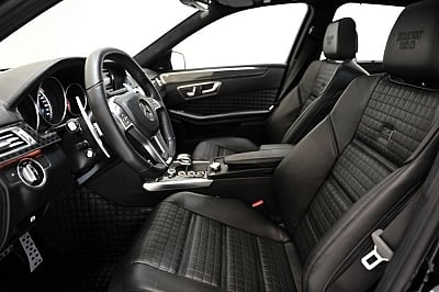 Brabus Fine Leather / Alcantara Interior Trim for the Mercedes Benz E63 AMG 1