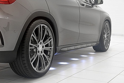 Brabus Side Skirt Illumination for the Mercedes Benz GLA-Class X156 1