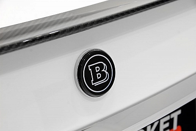 Brabus Boot Lid Logo for the Mercedes Benz S63/S65 AMG (W222) 1