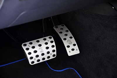 Brabus Aluminium Pedal Pads for the Mercedes Benz GLE Class 1