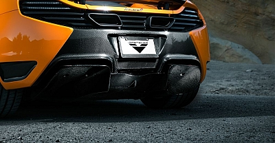 Vorsteiner MP4-VX Rear Diffusor & Rear Bumper for McLaren MP4-12C 1
