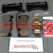 Quattroporte Front Brake Pads Kit