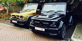 The famous G63 Widestar Bodykit