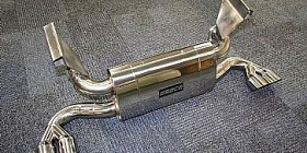 Seca sports exhaust for the Ferrari 348