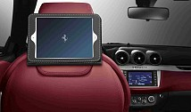 Rear Seat Entertainment System with iPad