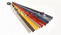 Coloured 3-point seat belts