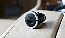 BMW USB charging adapter