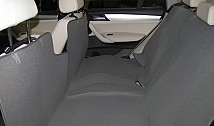 Universal rear seat protective cover