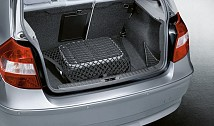 Luggage compartment floor net