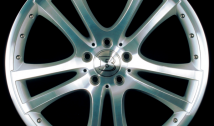 Monoblock S Double Spoke design silver polished