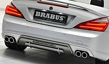 BRABUS sports exhaust SL 350 / SL 500